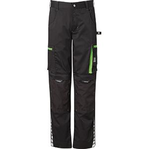Bundhose schwarz/grün