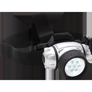 Kopf- und Helmlampe