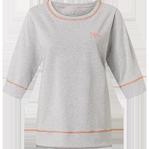 Damen-Shirt pfirsich