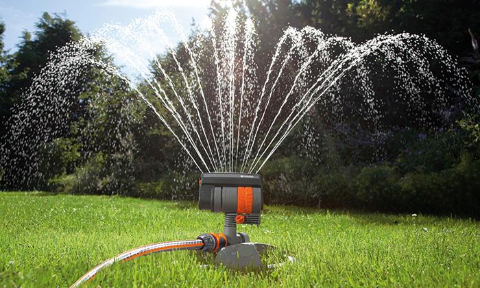 Automatische Bewässerungsanlagen im Sommer