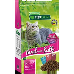 Katze Kalb + Rind Adult