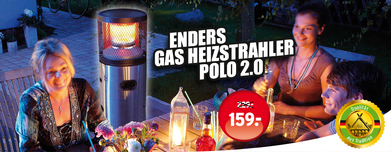 Enders Gasheizstrahler Polo 2.0