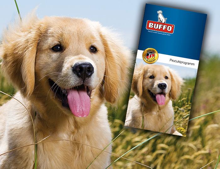 Flyer BUFFO Produktprogramm