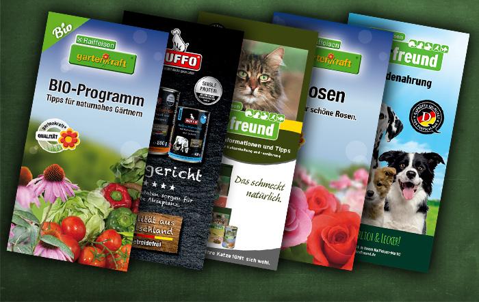 Flyer zu unserem Raiffeisen-Markt Sortiment
