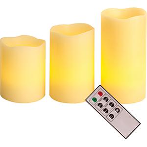 LED-Echtwachskerzen