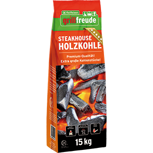 Steakhouse Holzkohle, 15 kg