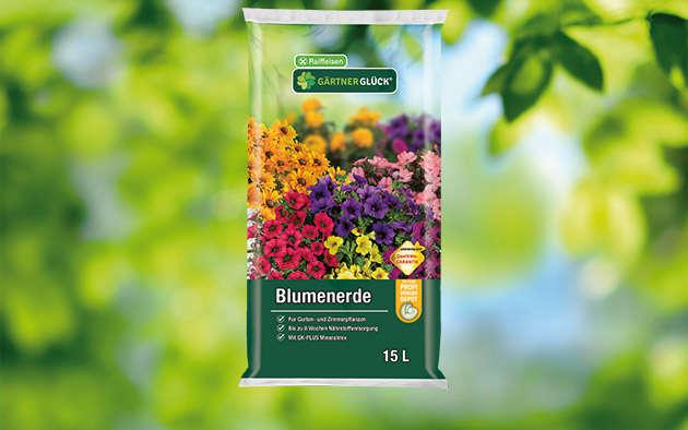 GÄRTNERGL&Üuml;CK® Blumenerde