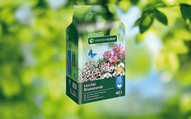 GÄRTNERGL&Üuml;CK® Leichte Blumenerde