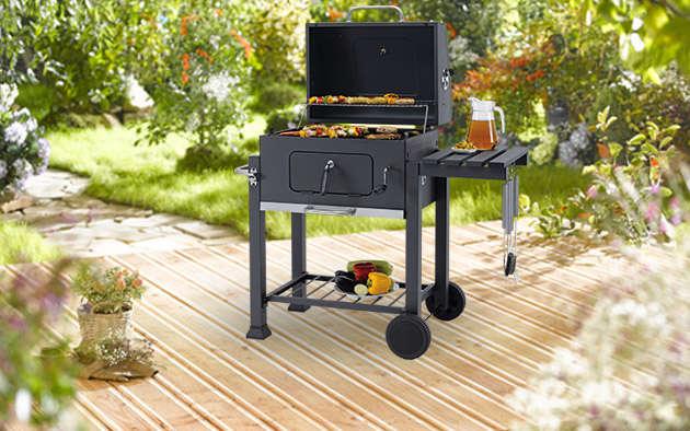 Gas Oder Holzkohlegrill Kaufen : Grillwagen holzkohlegrill gartengrill barbecue grill kohlegrill