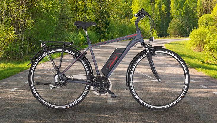 Fischer E-Trekking-Bike 1806 Herren