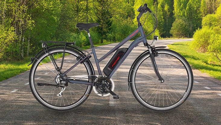 Fischer E-Trekking Bike 1806 Damen