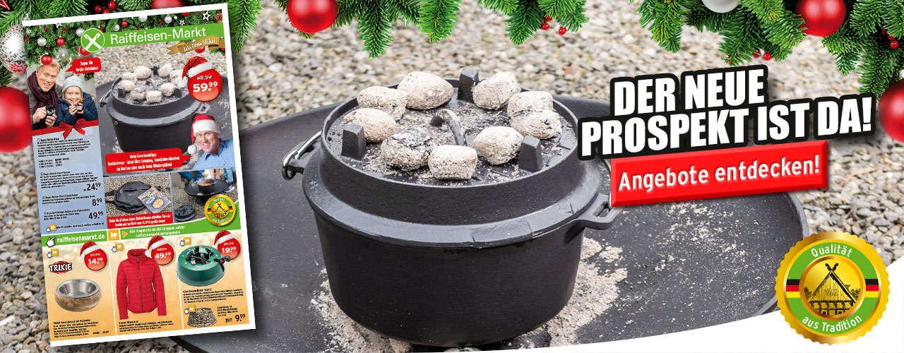 Der neue Dezember Prospekt von Ihrem Raiffeisen-Markt
