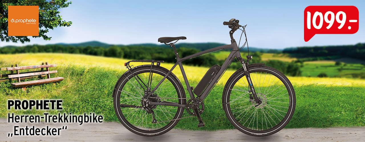 Zum Trekking E-Bike