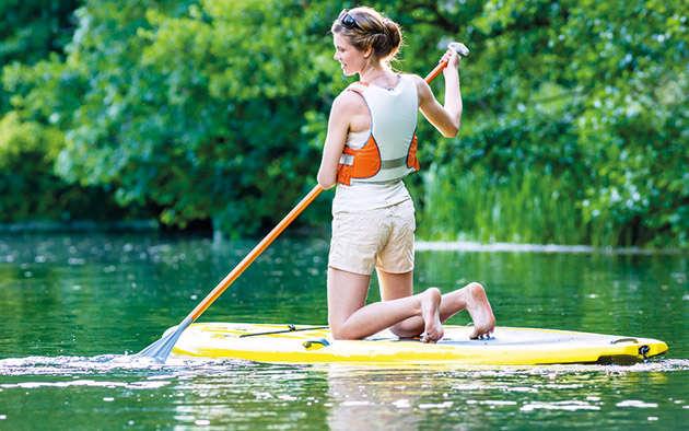 Der Sommersporttrend: Stand Up Paddling