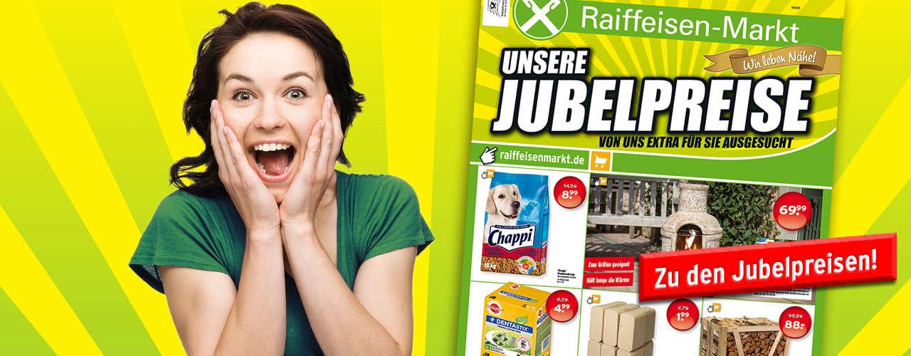Raiffeisenmarkt Jubelpreise September