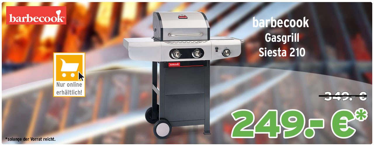barbecook Gasgrill Siesta 210