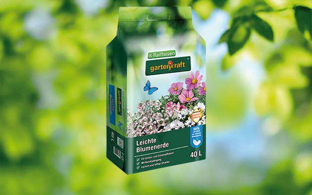 gartenkraft Leichte Blumenerde