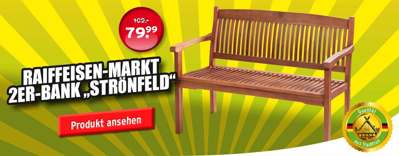 Holzbank Strönfeld