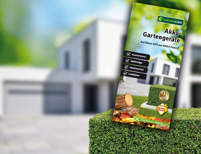 GÄRTNERGL&Üuml;CK Akku-Gartengeräte