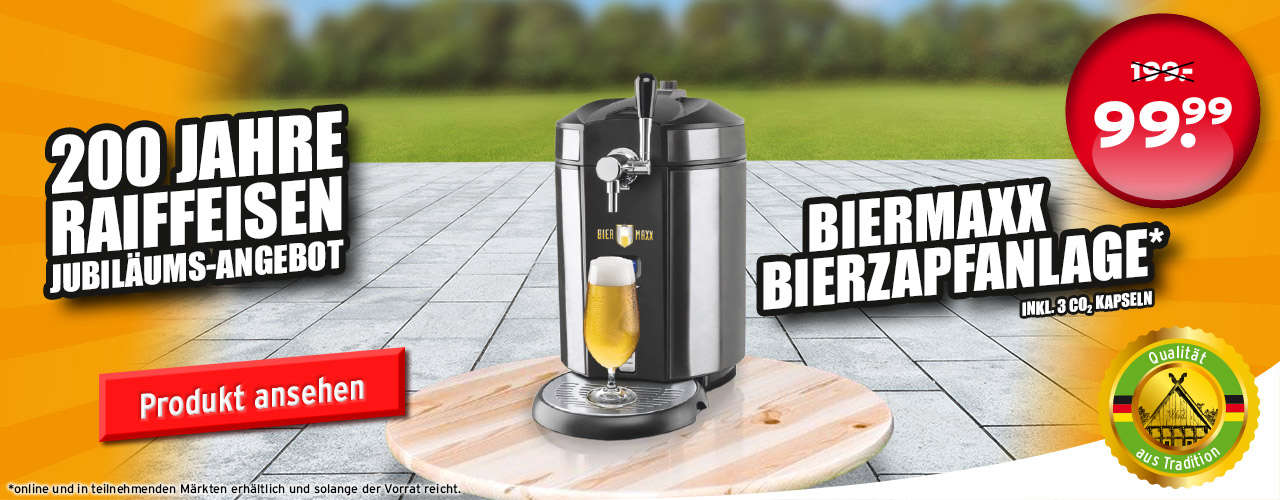Biermaxx Biermaxx Bierzapfanlage