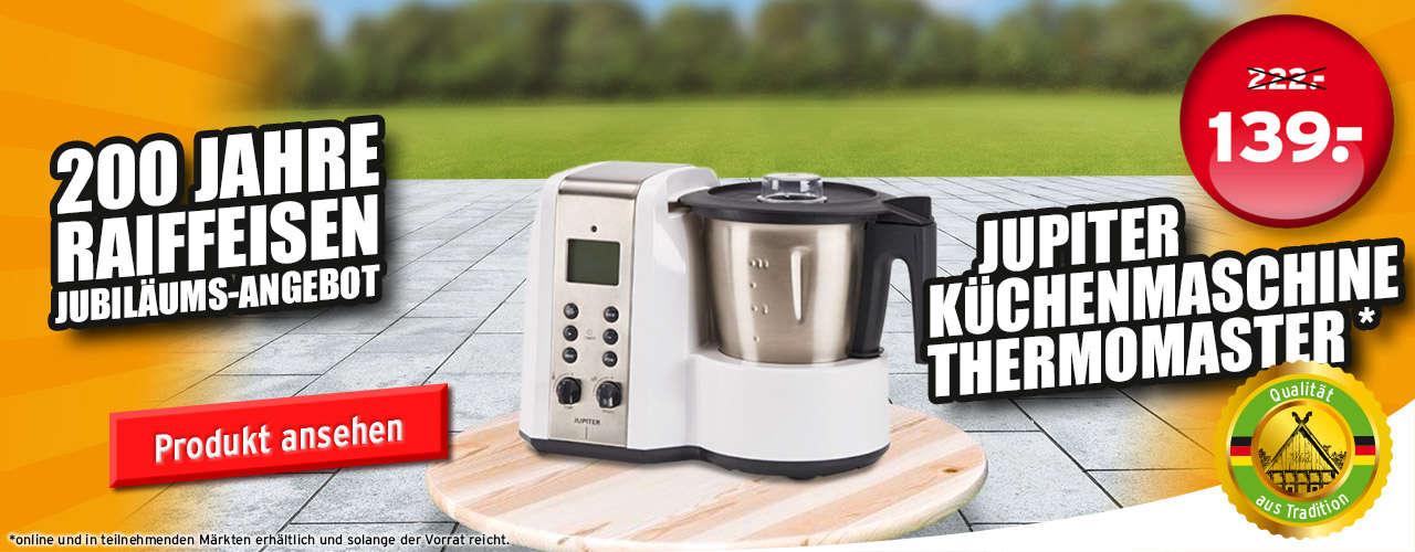Thermomaster Plus Multifunktionsküchenmaschine