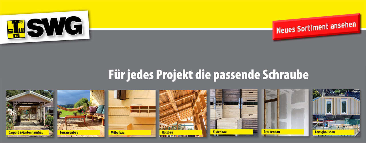 Neues Sortiment SWG
