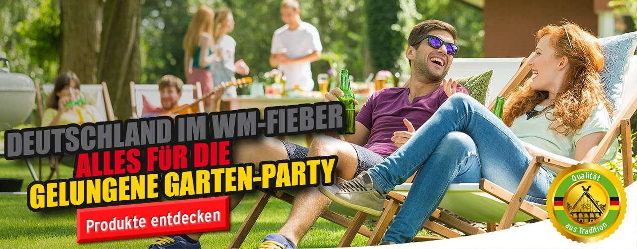 Garten-WM-Party
