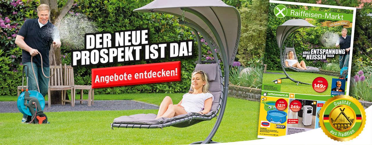 Raiffeisen-Markt Juli Prospekt