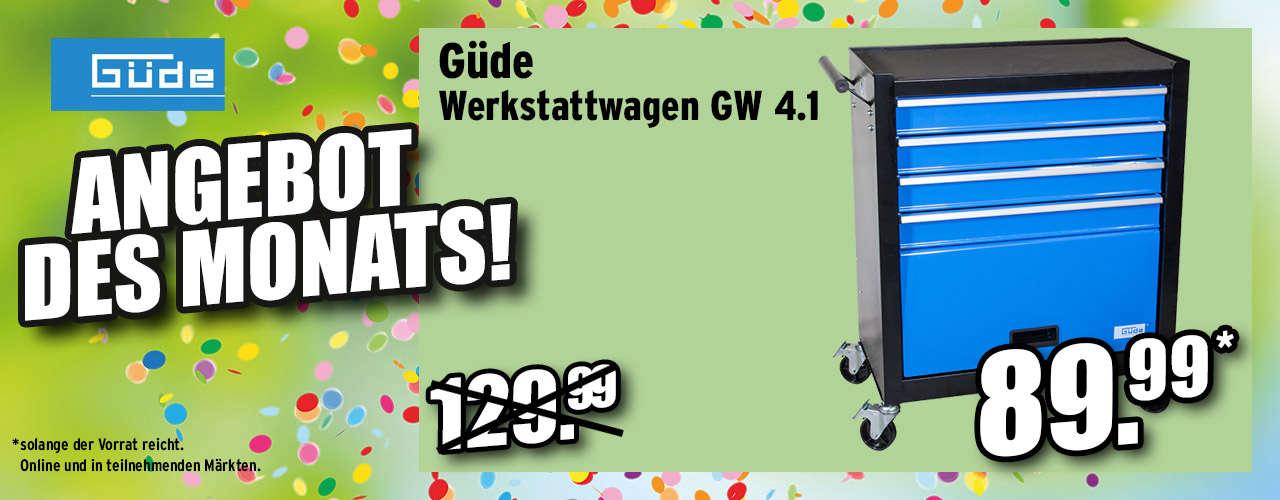 Guede Werkstattwagen Gw 4.1