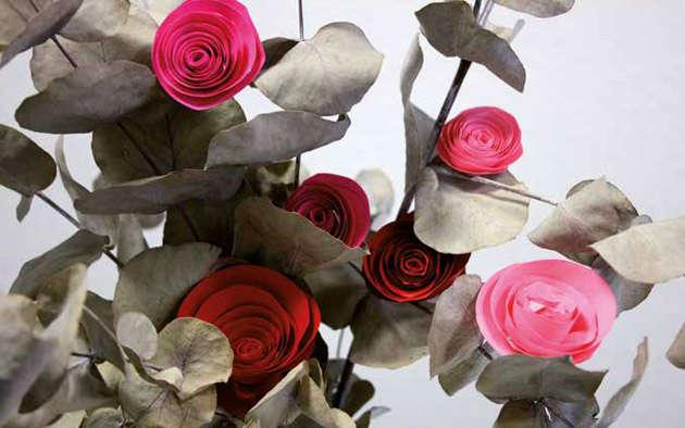Rosen selber basteln