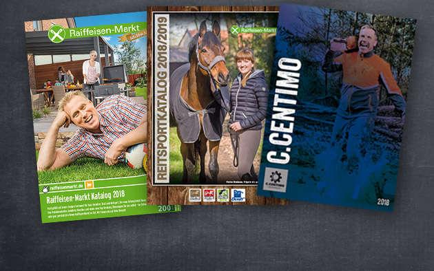 Kataloge und Flyer auf www.raiffeisenmarkt.de