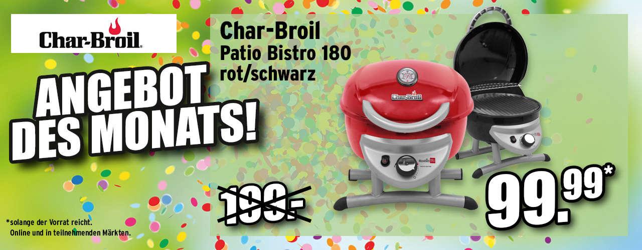 Char-Broil Gasgrill Patio Bistro 180