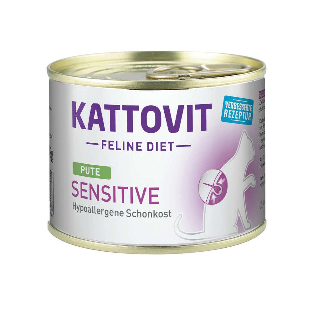 Kattovit Feline Diet Sensitive Pute
