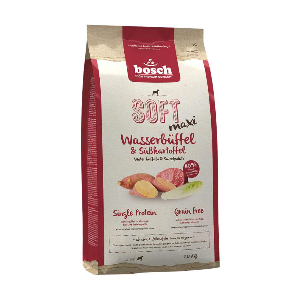 bosch Hunde-Trockenfutter HPC SOFT Maxi Wasserbüffel+Süßkartoffel
