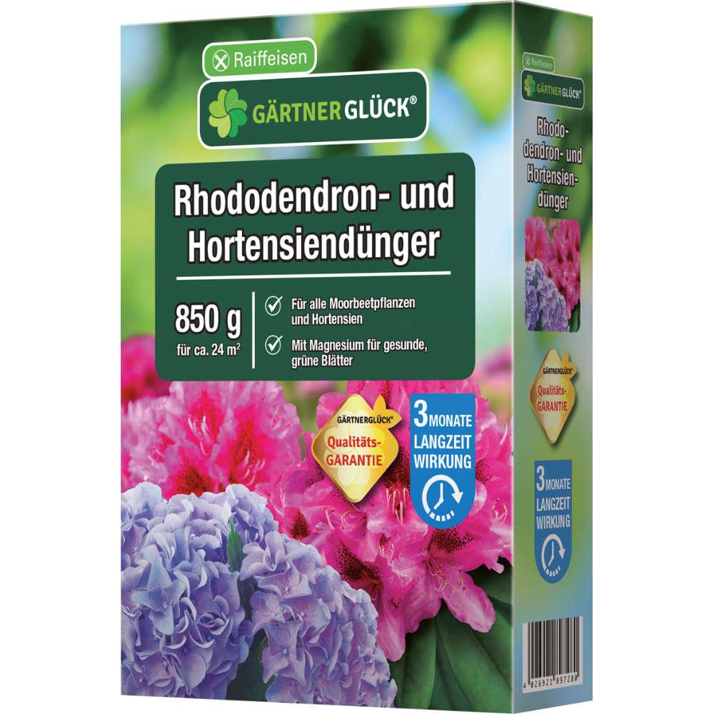 Raiffeisen GÄRTNERGLÜCK Rhododendron+Hortensien Dünger mit Langzeitwirkung