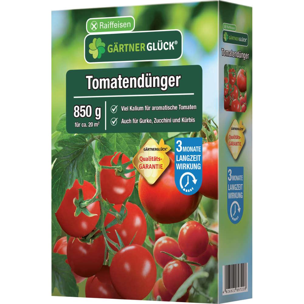 GÄRTNERGLÜCK Tomatendünger mit Langzeitwirkung