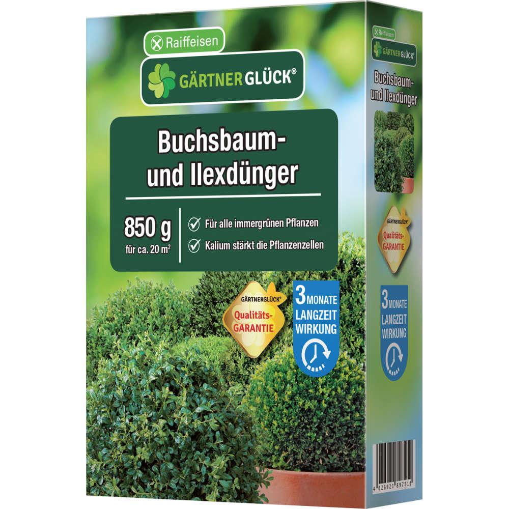 GÄRTNERGLÜCK Buchsbaum- und Ilexdünger