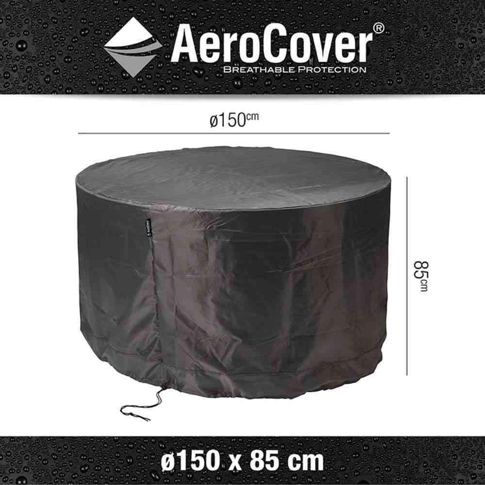 AEROCOVER Atmungsaktive Schutzhülle für Sitzgruppen Ø150xH85 cm