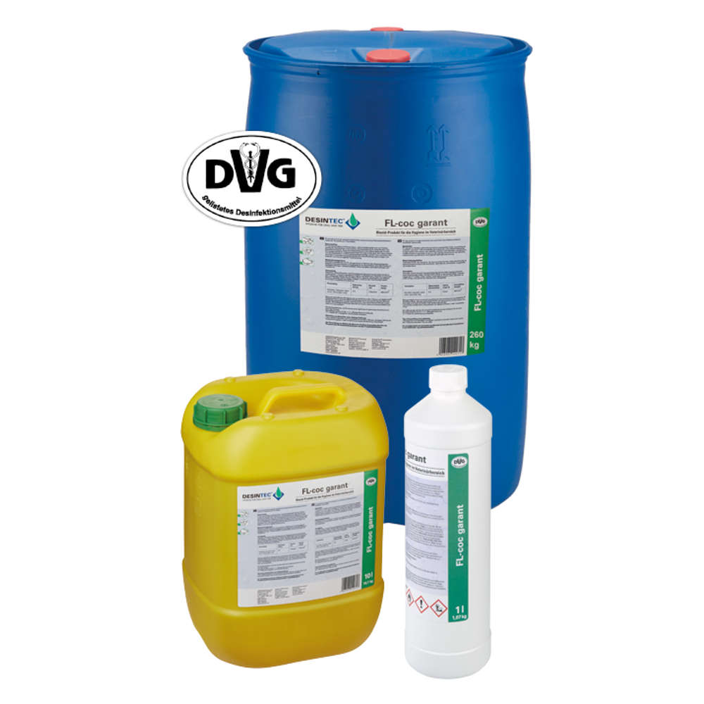 DESINTEC® FL-COC Garant - Desinfektion