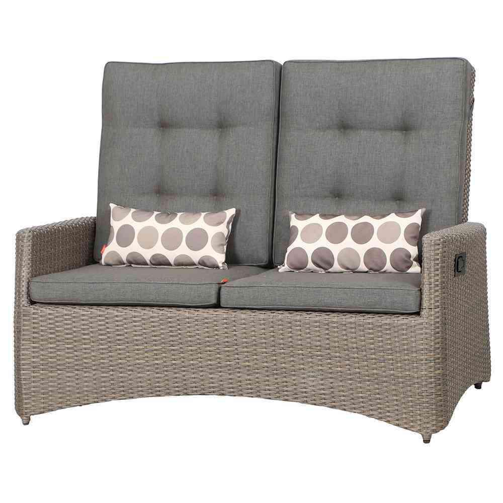 SIENAGARDEN Teramo Lounge 2er Sofa