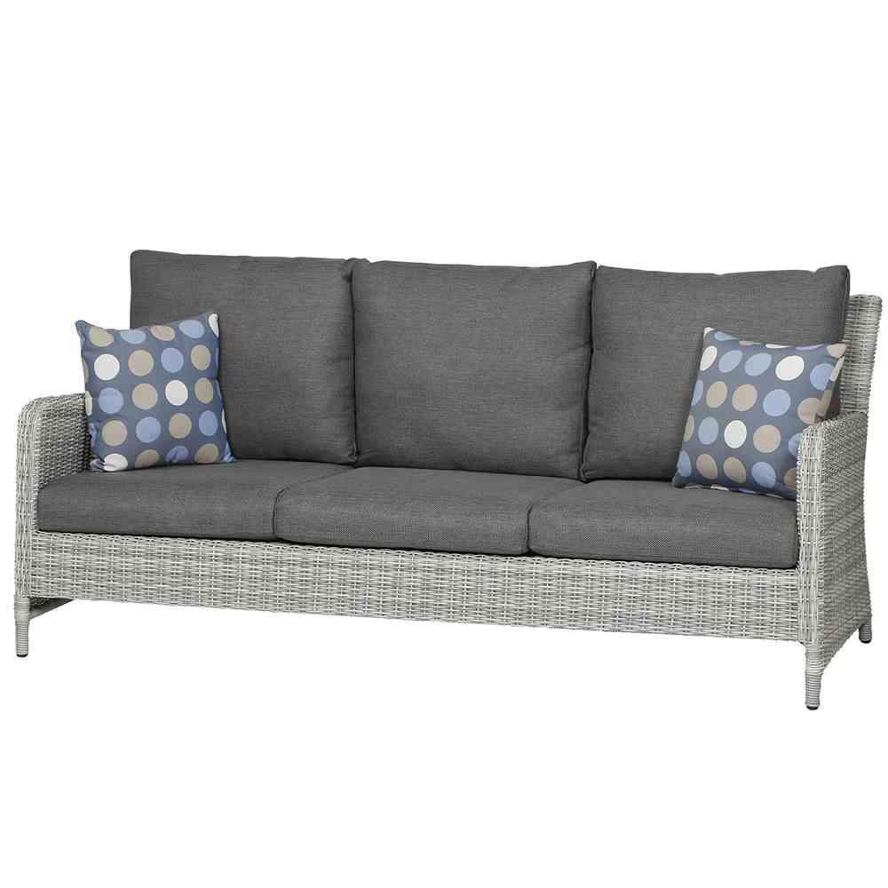 SIENAGARDEN Soria Lounge 3er Sofa