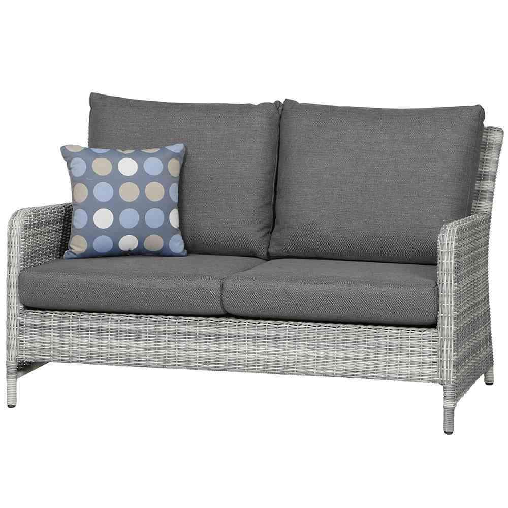 SIENAGARDEN Soria Lounge 2er Sofa