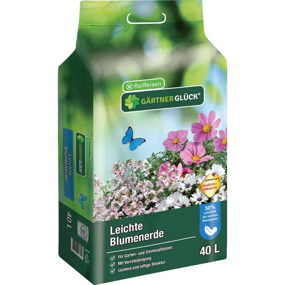 GÄRTNERGLÜCK leichte Blumenerde