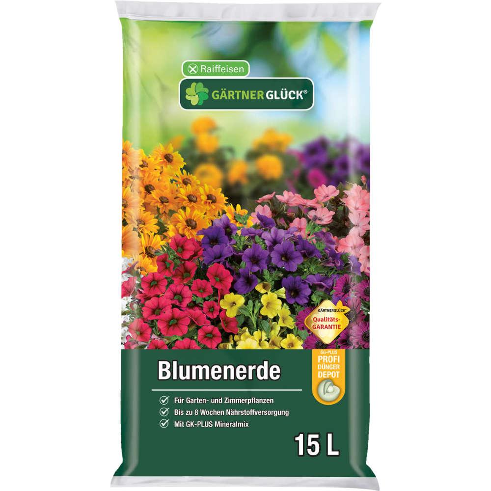 Raiffeisen Gärtnerglück Blumenerde