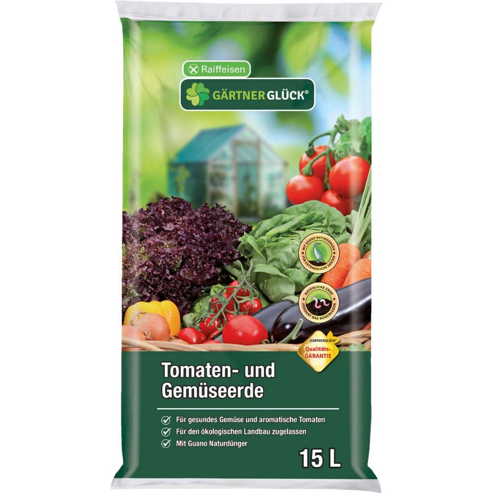 Raiffeisen Gärtnerglück Tomaten- und Gemüeseerde
