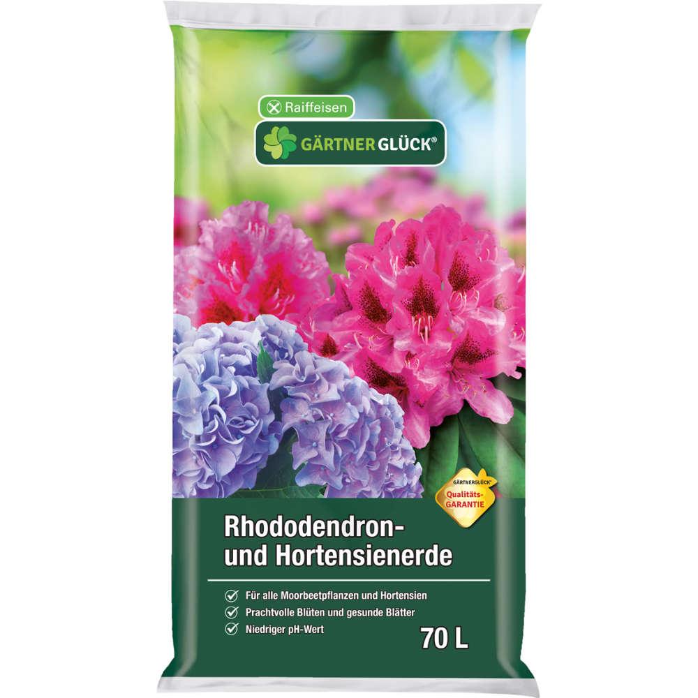 GÄRTNERGLÜCK Rhododendron- und Hortensienerde