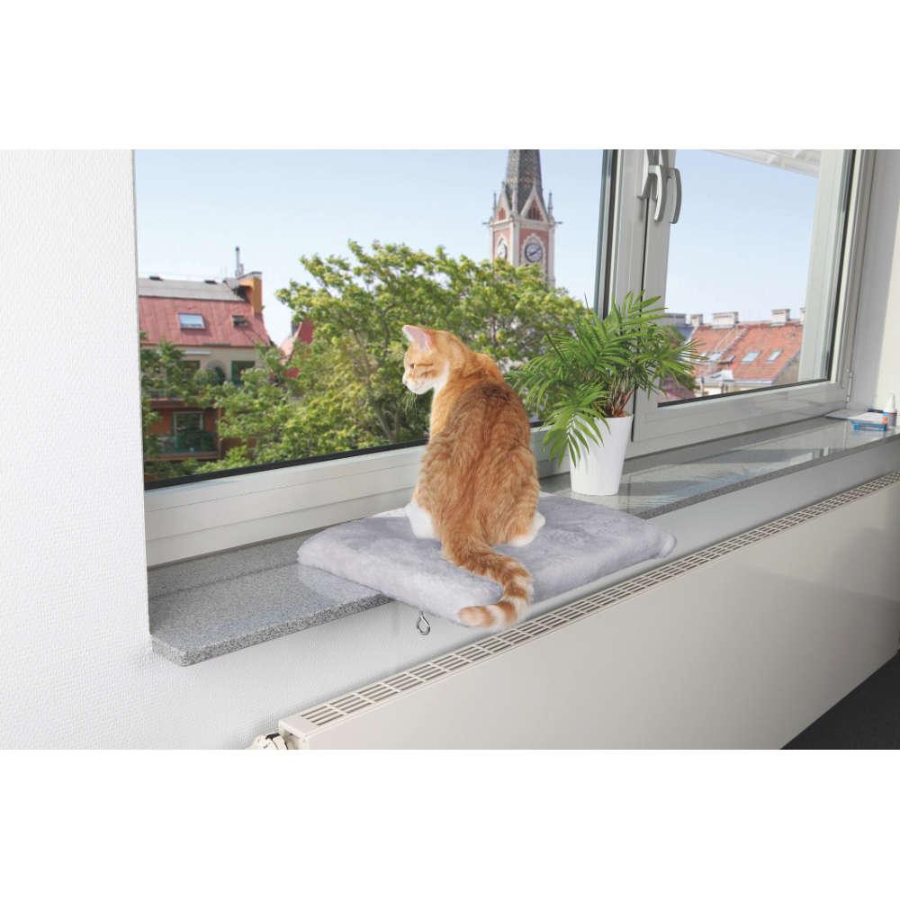 TRIXIE Liegeplatte fuer Fensterbank - Katzenzubehoer