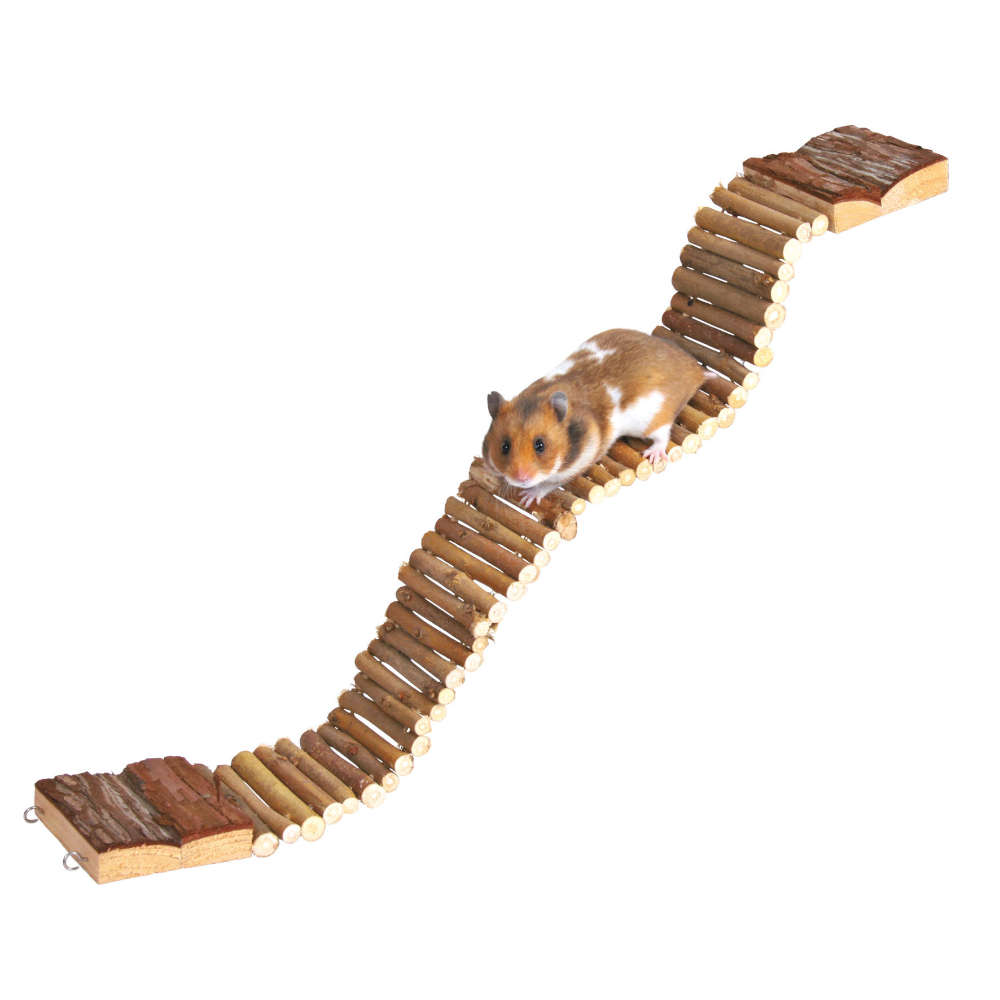 TRIXIE Natural Living Leiter - Kleintierspielzeug