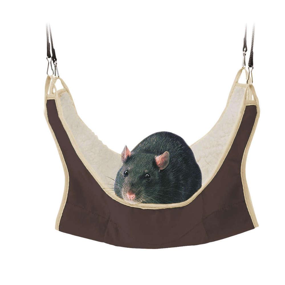 TRIXIE Haengematte fuer Ratten/Kleinnager - Kleintierspielzeug