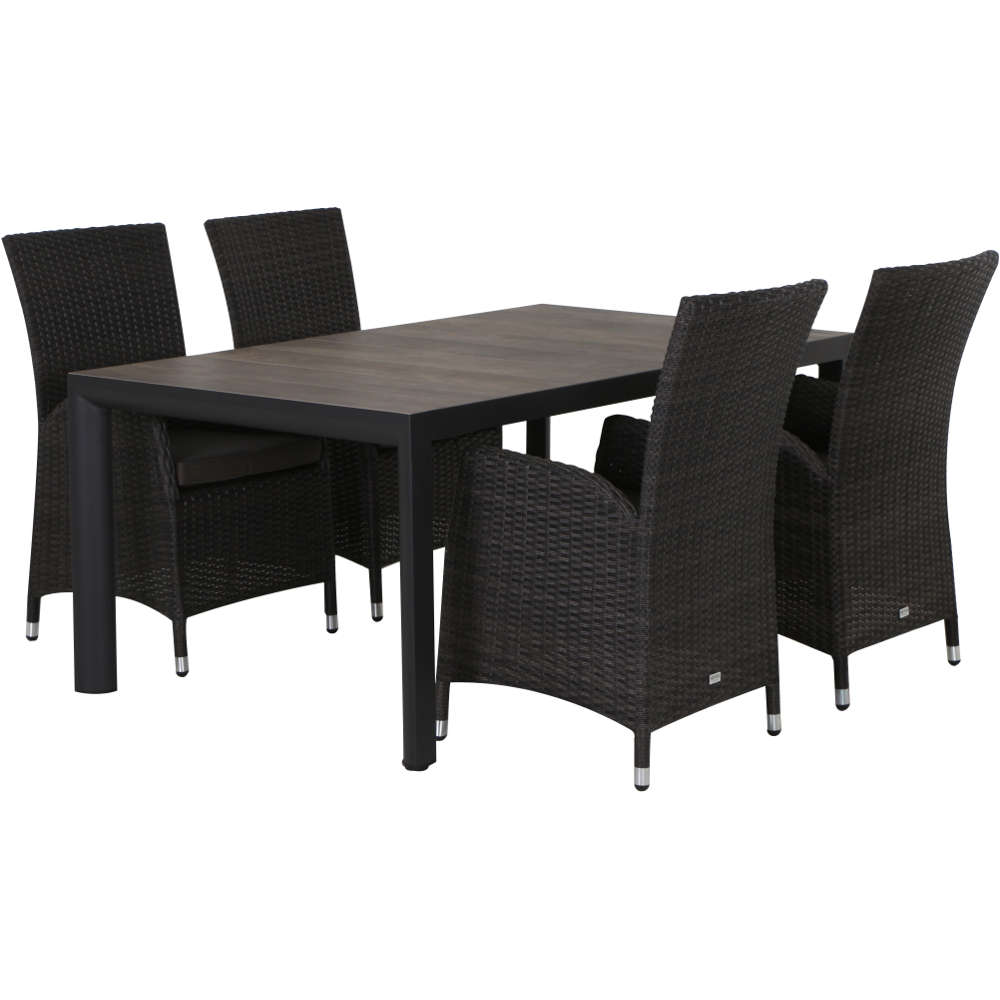 siena garden porto silva dining set 5 tlg. Black Bedroom Furniture Sets. Home Design Ideas